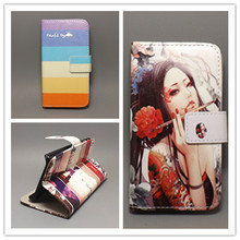 New Butterfly Flower Flag Designer Wallet Flip Stand Book cover Case for Samsung Galaxy SII 9100 S2 i9100 free shpping
