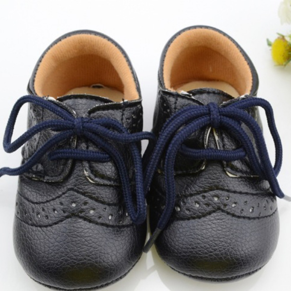 Leather Baby First Walkers Shoes Toddler Infant Newborn Shoes Antislip<br><br>Aliexpress
