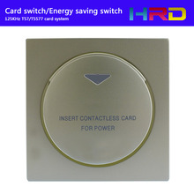 T5577 125KHz Wall Switch Energy Saving Switch for Hotel Access Control The Switch   +card