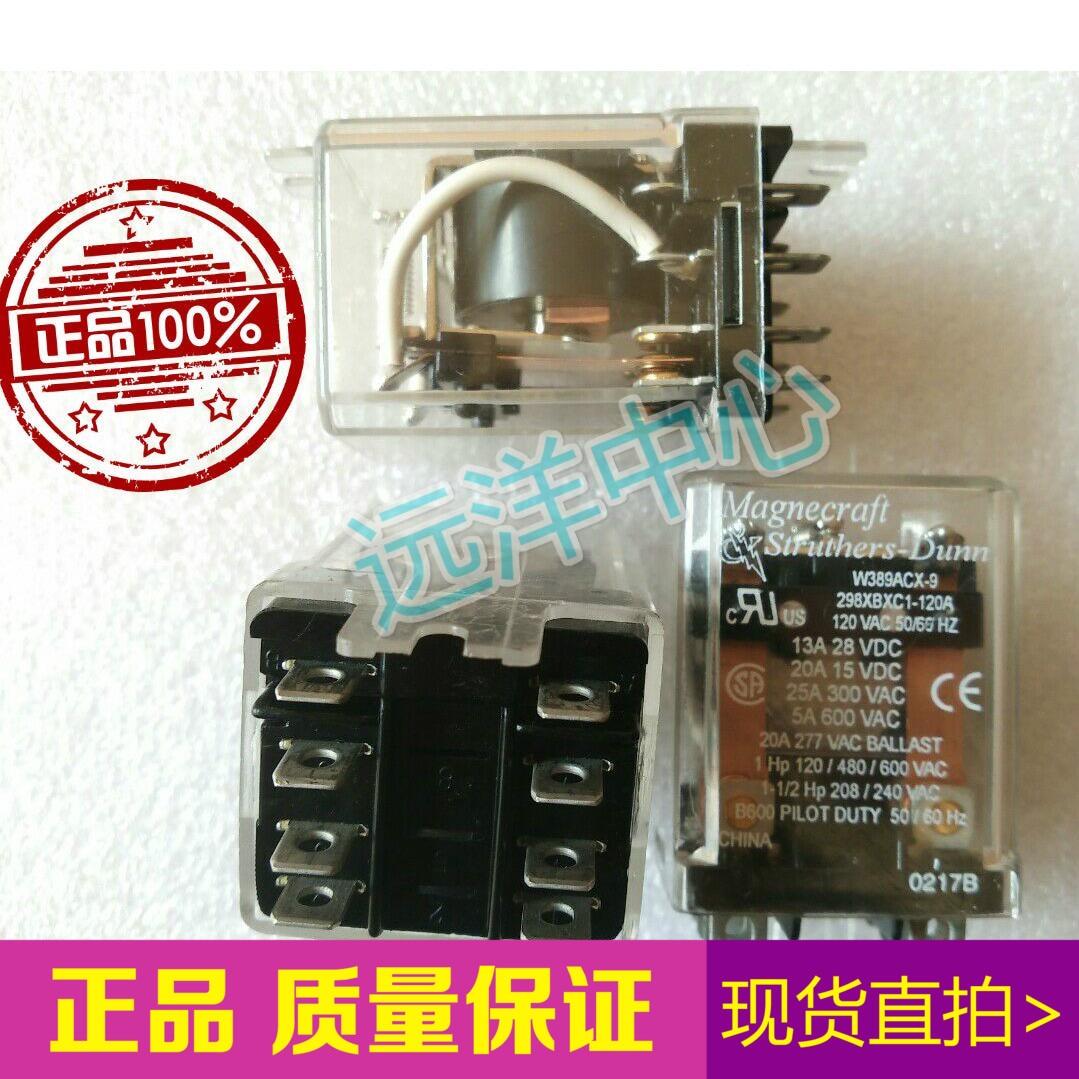 W389ACX-9  298XBXC1-120A  120VAC 120V 8<br>