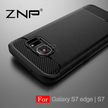 ZNP Shockproof Phone Full Cover Case For Samsung Galaxy S7 S6 Edge S8 Soft TPU Cases For Samsung Galaxy S8 S8 Plus Phone Case