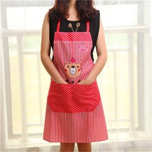 HOT SALE Cute CAT Fashion Bib aprons for men and women chef restaurant working kitchen coffee tea shop house cleaning HA86