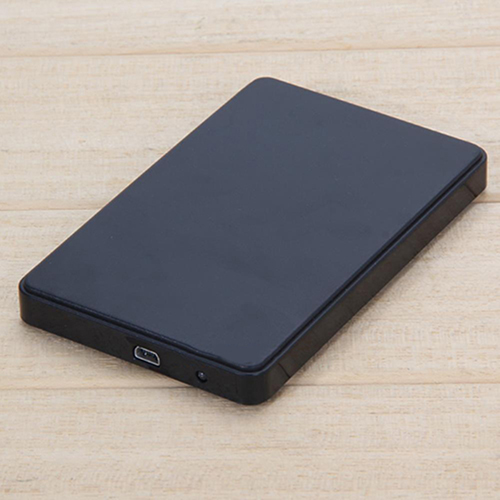 2.5Inch USB 2.0 SATA HD Box HDD Hard Drive Mobile Disk External Enclosure Case
