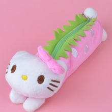 Stawbarry Hello Kitty Plush Toy Pencil Case, Kids Child Coin Bag Gift Free Shipping