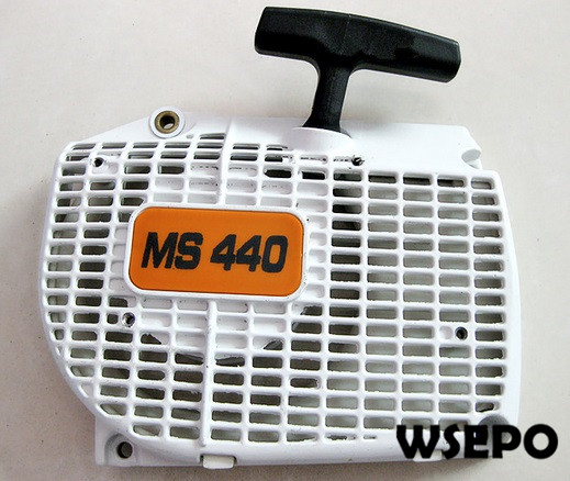 Top Quality! Recoil Starter Assy for MS440 Small Gasoline 02 Stroke Chainsaw/Wood Spliter/Log Cutting Machine<br>
