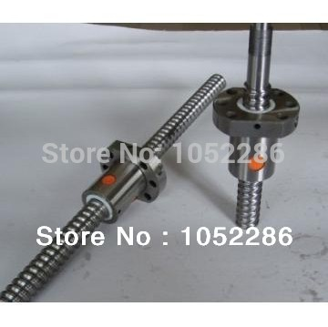 1pcs ball screw RM1605-750mm guide+ 1pcs SFU1605 single ball nut with end machined for cnc router<br>
