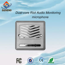SIZHENG MX-K60 Adjustable Anti-riot CCTV audio microphone video mircophone sound monitor for complex environments