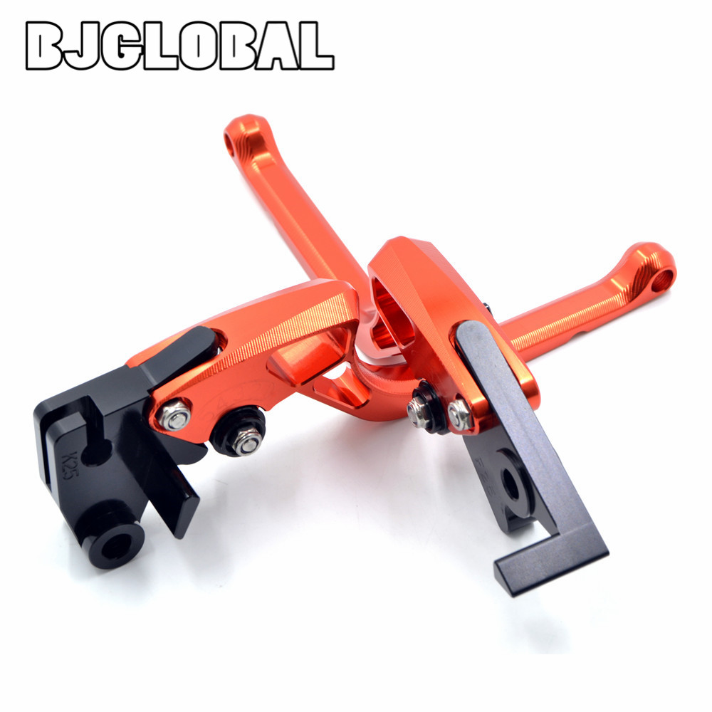 For KTM 690 SMC/SMC-R/Duke/Duke R 2012-2013 New CNC Motorcycle Adjustable Brake Clutch Levers Labor-Saving  Right-angled Lever<br><br>Aliexpress