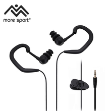LX-120 2016 China best Product Waterproof earphones underwater sports mp3 earphones 3.5mm interface ear ipx 8