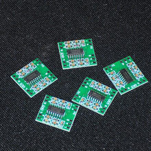 5pcs Amplificador Module Pam8403 Audio Mini Micro Amplifier Kit 2-Channel 3W Digital Power Class D Amplifier Board USB DC 2.5-5V