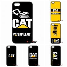 For Caterpillar Logo TATUM Awesome Cell Phone Case For iPhone 4 4S 5 5C SE 6 6S 7 Plus Samsung Galaxy Grand Core Prime Alpha