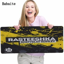 Babaite steelseries mouse pad Style Art Print Rubber Mouse Pad Computer Office Gaming Mousrmat Anti-slip Optical Mice Play Mats