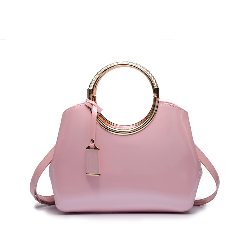 Popular Pink Patent Handbag-Buy Cheap Pink Patent Handbag lots ...
