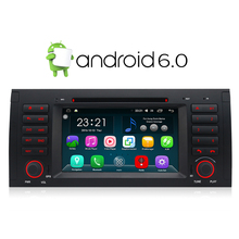 A-Sure Android 6.0 DAB+ GPS Radio 2 Din Navi Stereo for BMW X5 E39 E53 E38 5 Series Navigation DVD Player 1024*600 WiFi(Hong Kong,China)