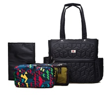 Brand Baby Stroller Diaper Bag Organizer Changing Nappy Bags Wet Mummy Maternity Bag For Diapers Mom Handbag Black Travel Bags