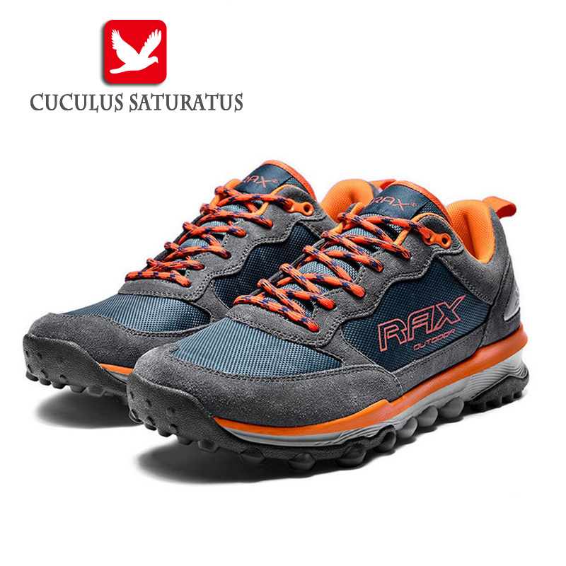 RAX Surface Waterproof Outdoor Sports Shoes Hiking Shoes men shoes walking Men Trainers woman hiking boots 53-5C332<br>