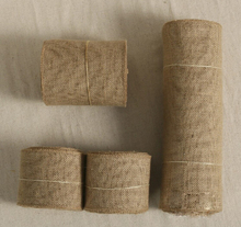 10M Burlap Ribbon Roll Vintage Rustic Wedding Table Runner Chair Decor Burlap Table Runner Home Banquet
