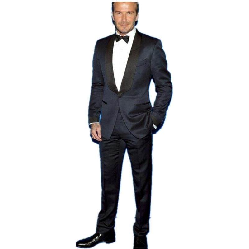 Compare Prices on Navy Blue Mens Full Wedding Suit- Online ...