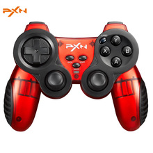 PXN-2902 Zero Play 2.4G Wireless Game Controller Gamepad Joystick Dual Vibration for PS3 For Android Smart Phone for PC
