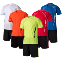 Quick dry men soccer training suits survetement football boys blank soccer jerseys set team soccer uniform kits custom tracksuit