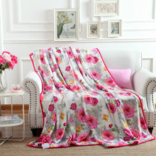 Autumn winter's new flannel blanket with warm and thick coral wool blanket/150x200/180*200/200x230/(China)