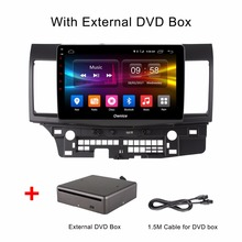 10.1 Inch Android 6.0 Octa 8 Core 2GB RAM+32GB ROM Car DVD Player For Mitsubishi LANCER 2015/2016 GPS Navigation Radio Stereo(China)
