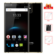 OUKITEL K3 5.5'' FHD 6080mAh 4 Cameras 4G Smartphone 4GB+64GB Octa Core Android 7.0 9V/2A MT6750T Fingerprint 13MP Mobile Phone