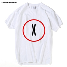 X Files T-shirt Men I Want to Believe The X-Files Popular Television Series Letter Printed T shirt Male Hip Hop Top Clothing 3XL(China)