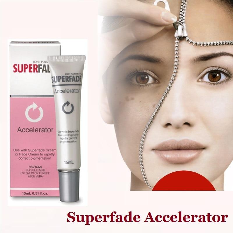 Australia powerful Superfade Accelerator fading hydroquinone Cream15mL dark marks, age spots, dark brown hormone marks remover<br>