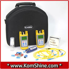 KomShine KLT-25M Optical Fiber Loss Test Kit/Optic Fiber Loss Tester includ Optical Power Meter KPM-25M + Optical Light Sourcec(China)