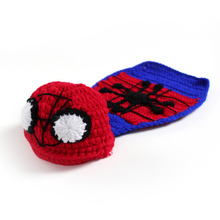 Hand Knitted Baby Clothes Batman Joker Newborn Photography Props(China)