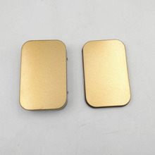 100pcs Mini Tin Box Small Empty Gold Metal Storage Box Case Organizer For Money Coin Candy Keys U Disk Headphones ZA5195(China)