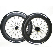SEMA T700 18 inch 355 carbon fibre wheelsets with DATI for Birdy V Brake hub racing bike wheels 960g best quality(China)