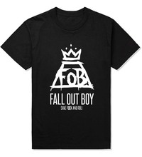 Buy Free Fashion Men T Shirts FOB Fall Boy Cool Printing Tshirts Funny Male Clothing Tees Cotton T-shirts Custom Tops for $8.73 in AliExpress store
