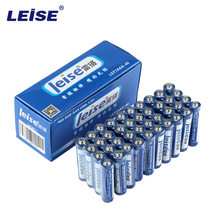 Leise 40pcs Pack 1.5V R03 UM4 Carbon Dry Batteries Single-use Primary battery Packaging May Vary(China)