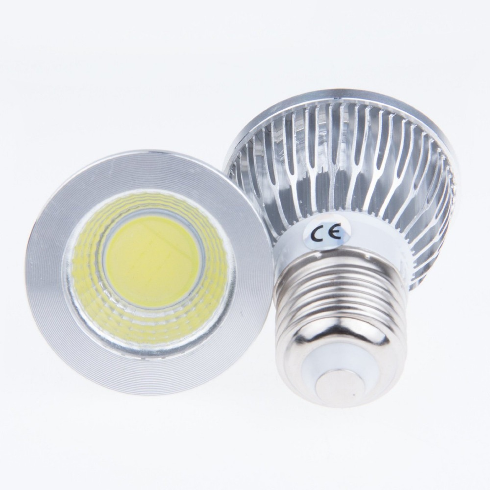 10pcs led bulb E27 socket 5w cob bulb AC85to265V 3000K4000K6000K warmwhite naturewhite white led spotlight lamp<br><br>Aliexpress
