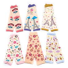 kids Baby Leg Warmers boy's girls' Legging Tights Rainbow Socks infant toddler ruffle Arm warmers legwarmers droppshipping(China)