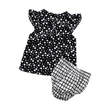 0-5Y Baby Girls Clothes Hot Sets Bodysuit Infant Summer Dots Print T Shirt+Plaid Shorts Costume Cheap Baby Clothes for Sale