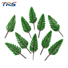 Teraysun 8CM Layout Model Train ABS plastic Trees Rain Forest Scale Model Building Kits Dollhouse Decoration Collection(China)