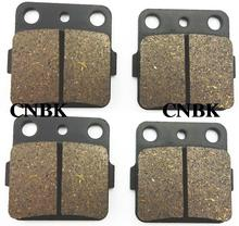 FL+FR Brake Pads Set fit HONDA 420 TRX Fourtrax Rancher TRX420 2008 2009 2010 2011 2007 - 2012(China)