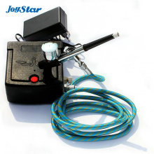 Dual action airbrush compressor Complete kit for cake making toy Hobby models