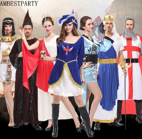 kids rome knight warrior costum cosplay performance props masquerade halloween party costume egyptian queen dress ambestparty in anime costumes from novelty