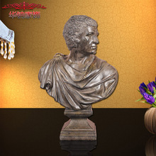 2016 Limited European Style Portrait Sculpture Handicraft Decoration High-grade Resin Home Furnishing Living Room Cabinet Decor