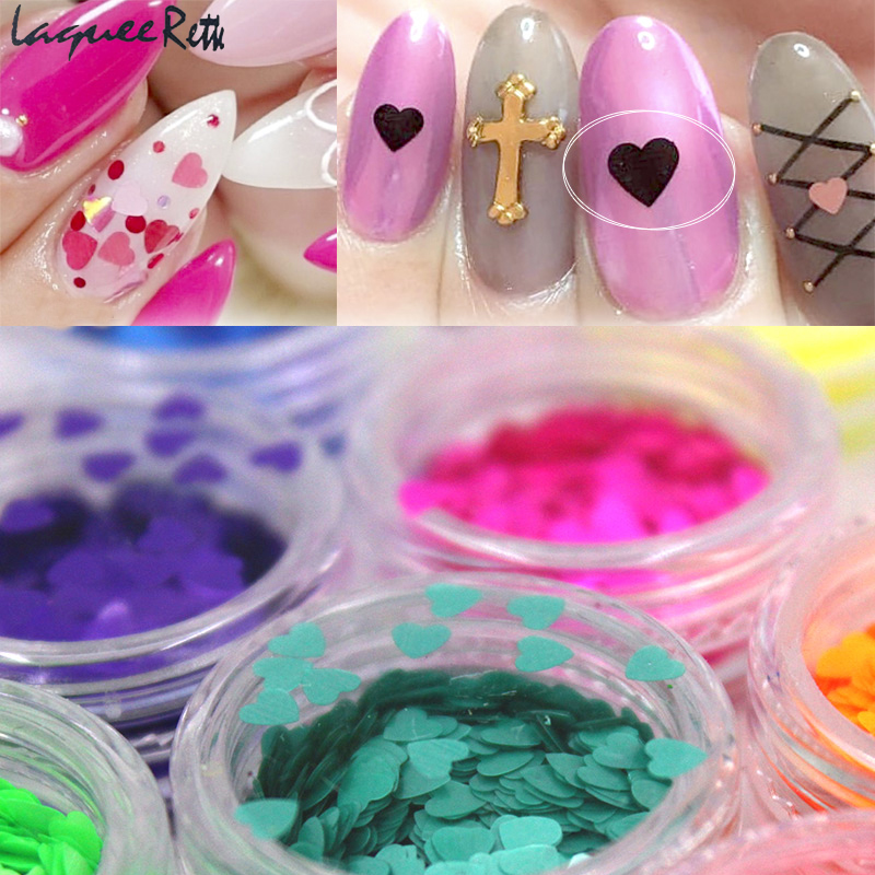 heart Holographic glitter