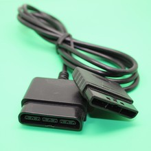 1 PC Controller Extension Cable Dance Pad Wheel Gun Cord Play Games Straight Away for Sony PS1/PS2 Console