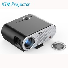 XIM GP90 LED Video Projector 3200 lumens Resolution 1280x720, 5.0 Inch LCD TFT, Support 1080P HD 3D Home Cinema Theater