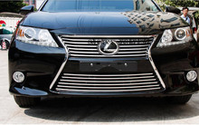 High quality 306 stainless steel front grille bumper cover trim for LEXUS ES250 ES300 ES350 2012-2014