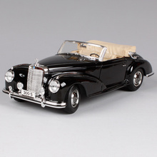 Maisto 1:18 1955 MB 300S Car model Retro Classic Car Diecast Model Car Toy New In Box Free Shipping 31806