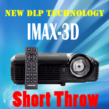 Short throw projector 3D Dlp 1080P projectors high Brightness 7500 lumens HDMI VGA for Home theater Education Business School