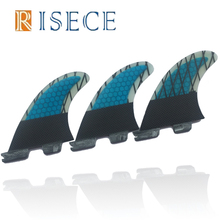 Blue Carbon Fiber FCS II Base Surfboard Fins Carbon Line FCS 2 Surfboard Fin G3 FCS ii Fins(China)